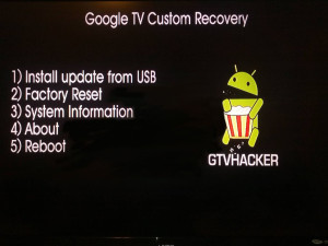 Custom Google TV Recovery